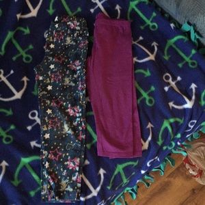 Other - Two pairs of leggings both size 6